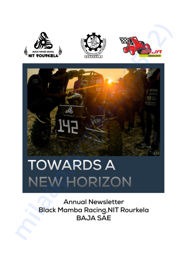 Newsletter - Team Black Mamba Racing