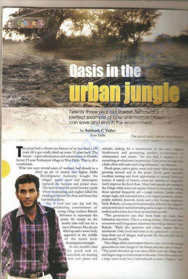 One of my team members featured in Eco Magazine
