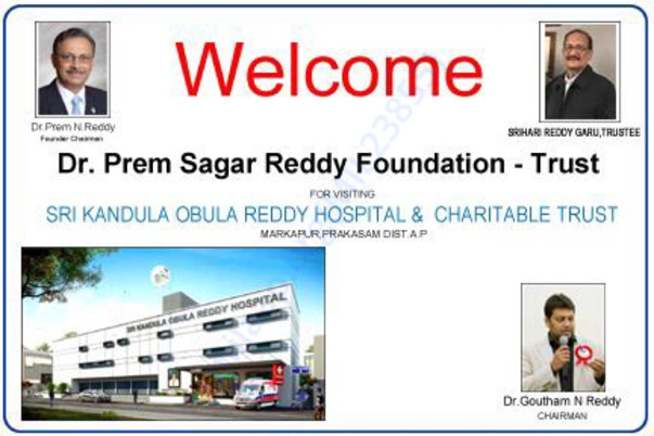 Dr. Prem Reddy Trust visit to Kandula Obulareddy Trust Hospital