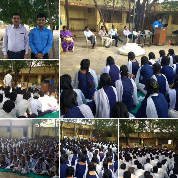 Workshop @ Govt. Higher Secondary School, Nagda (District Dhar, MP)
