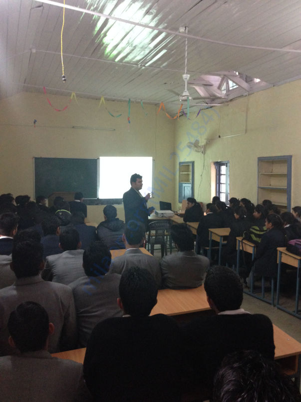 Workshop @ Govt Degree College, Dharamshala, HP