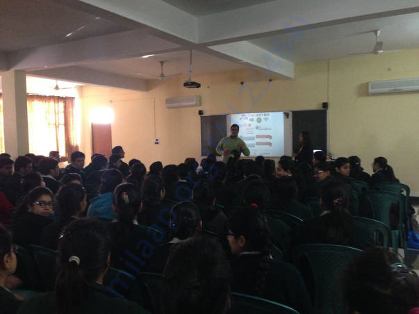 Workshop @ Pinewood School, Saharanpur, UP
