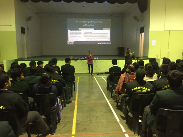 Workshop @ St. Columba's, New Delhi
