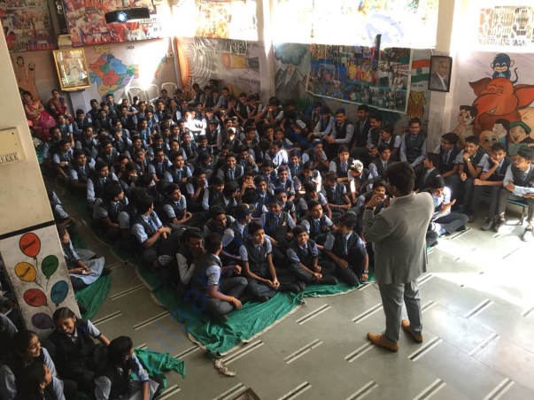 Workshop @ Mother Teresa Public School, Ratlam, MP