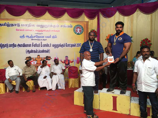 Rubans Receiving First Prize in a competition happened in Tamilnadu