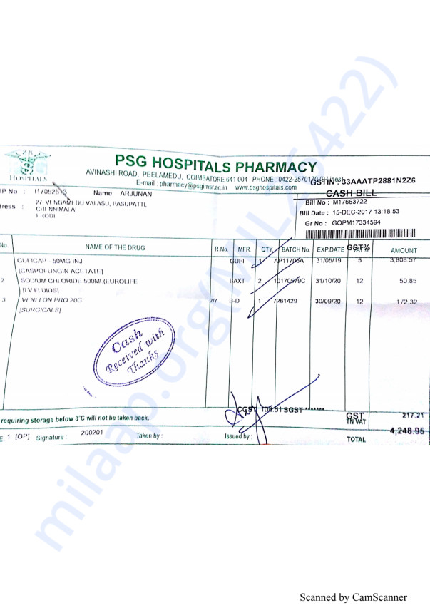 Pharmacy bills 1 15-12