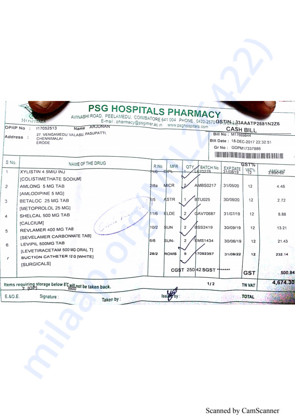 Pharmacy bills 2 18-12(2)