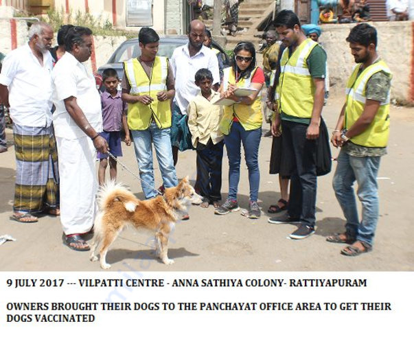ANTI RABIES VACCINATION DRIVE