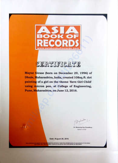Asia book of Record