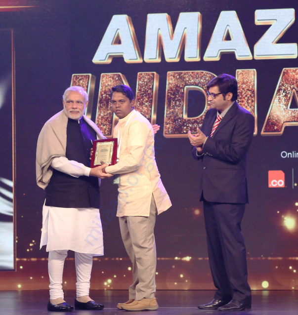 Amazing Indians Award of Times Now 2015