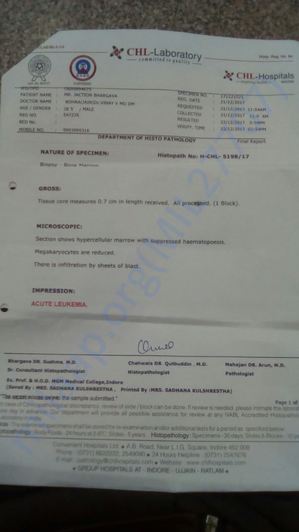medical document