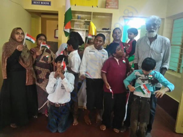 Independence day celebration with our special children