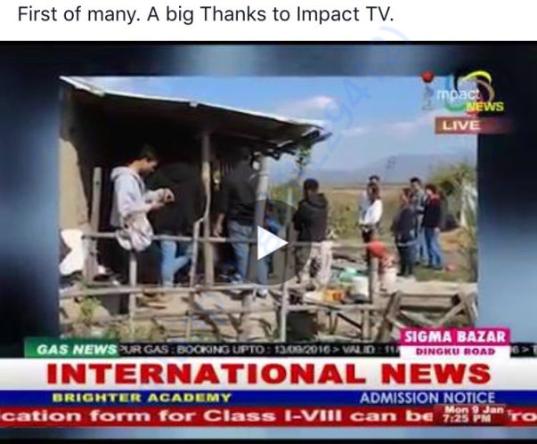 Featured on Impact tv news.