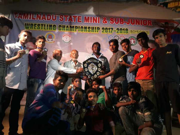 Ilango and team won overall championship 2017-2018