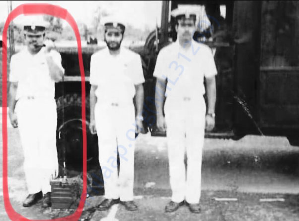 Indian Navy war veteran