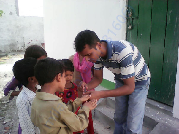 Engagement of our Interns with students