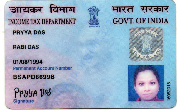 my pan card