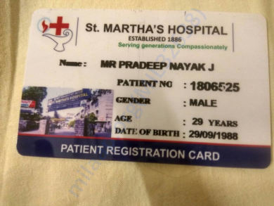 Patient Registration Card