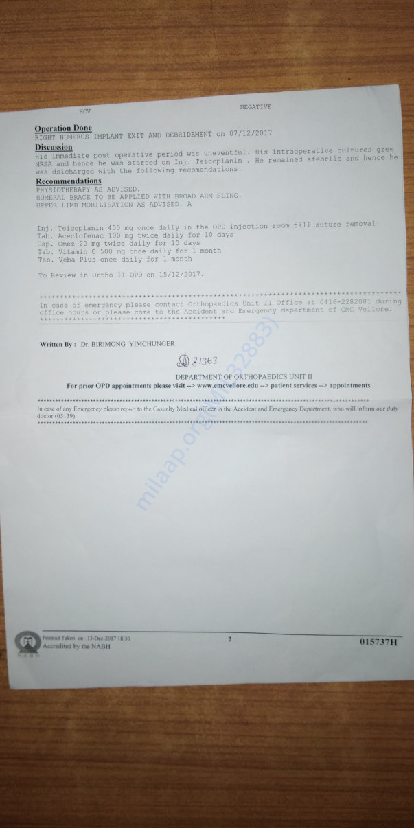 Medical report latter-2