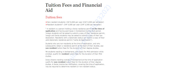 Tution Fees