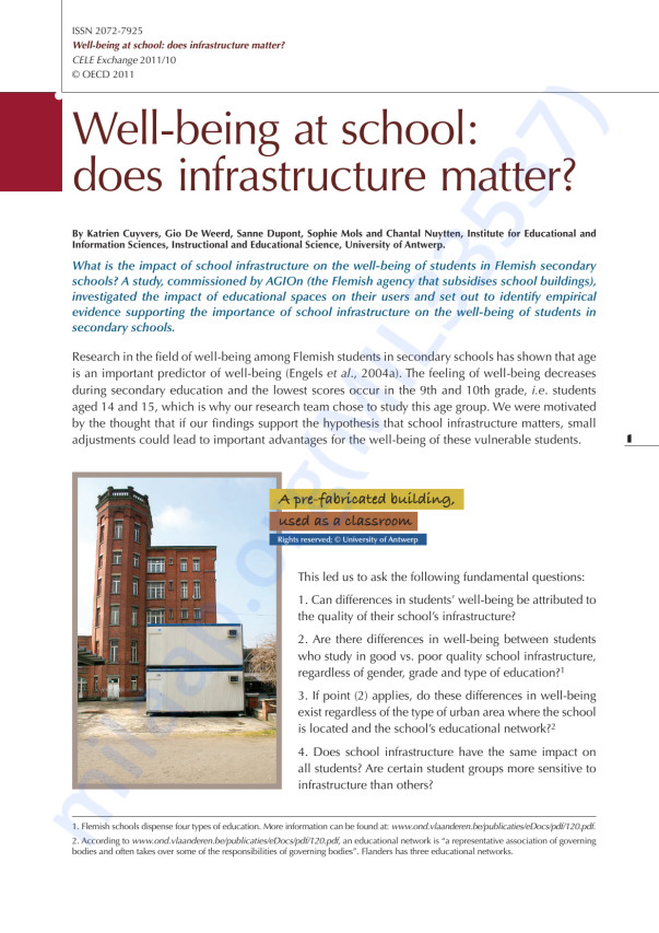 OECD Paper on how good infrastructure makes the difference!