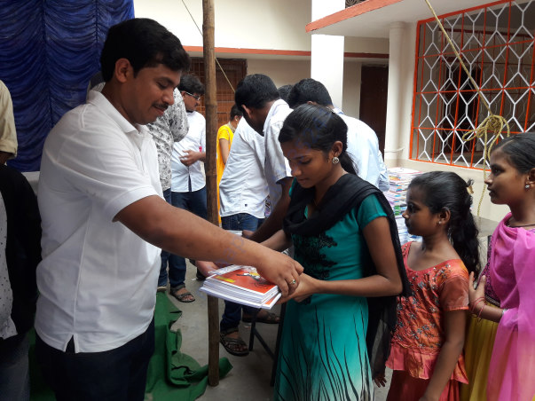 LAST YEAR STATIONERY DISTRIBUTION PICS
