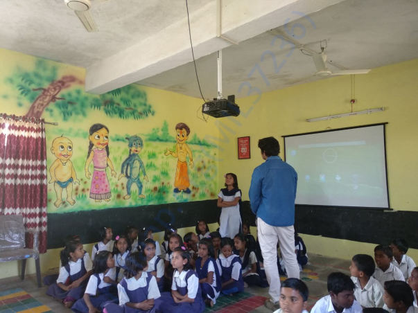 Digital Class at Z.P School Chikatgaon