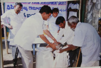 Abhaya Program-Supporting destitute senior citizens