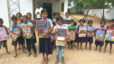 Mission 1000 Smiles - achieved at Marrigudem village in Nalgonda Dist