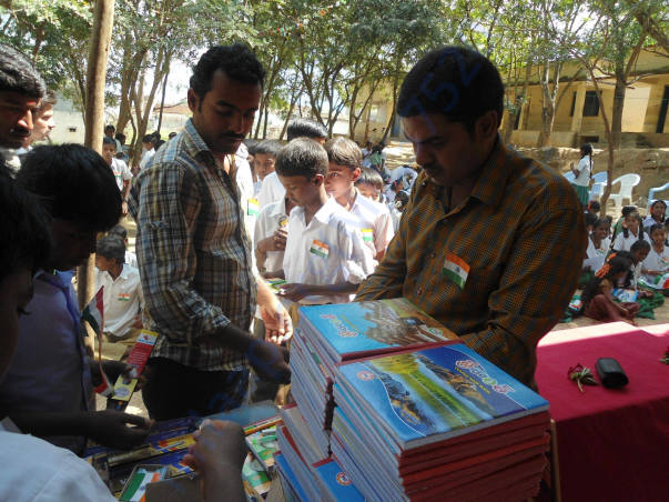 Note Books Distribution