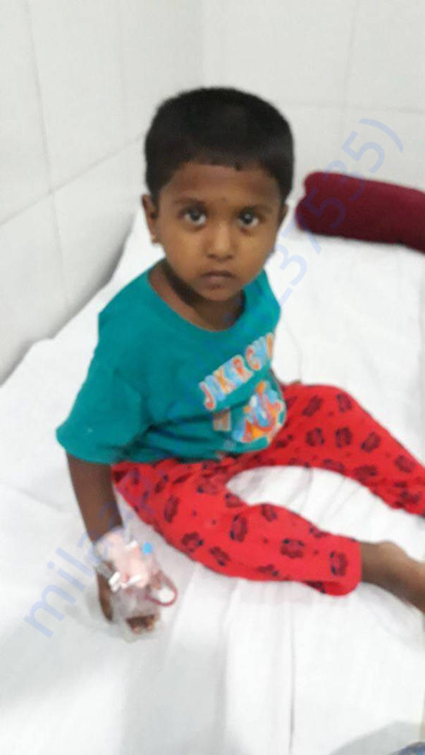 Help Baby Risitha suffering leukemia (blood cancer) advanced stage