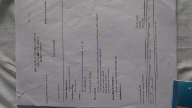 Medical test report1