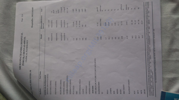 Medical test report6