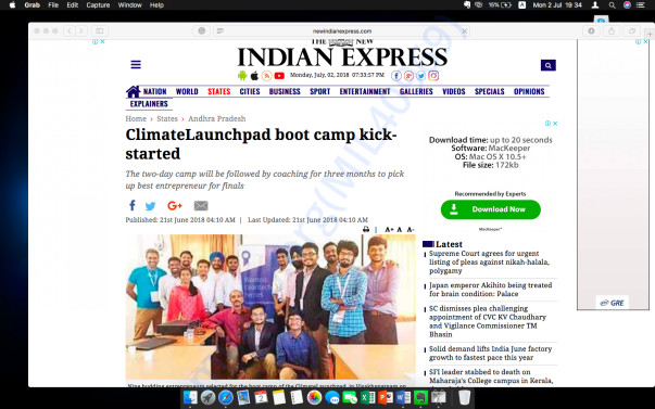 Indian Express Coverage