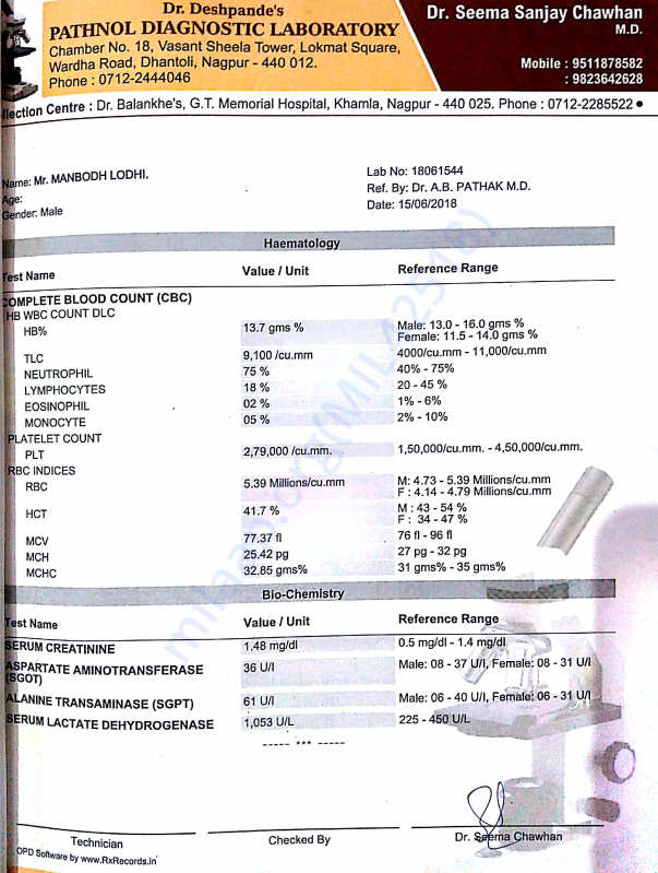 CT scan report 3