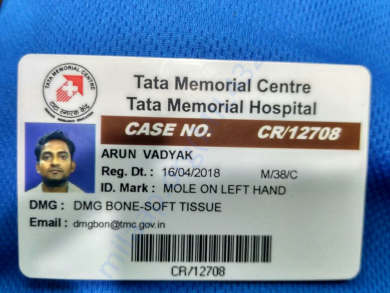 TMCH admit card