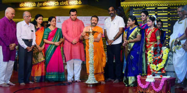 Inauguration of Silver Jubilee celebrations by Sri Palimaru Swamiji