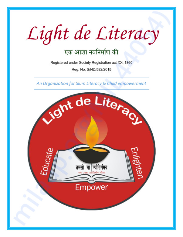 Light the Literacy Brochure
