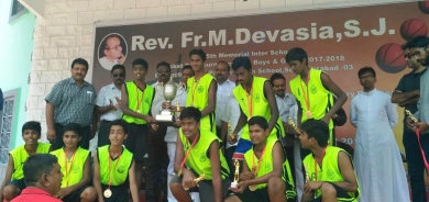 Boys winner last year basketball tournament 2017