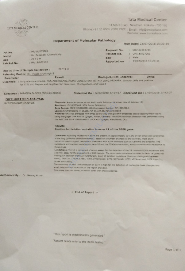 Debasish Medical Documents
