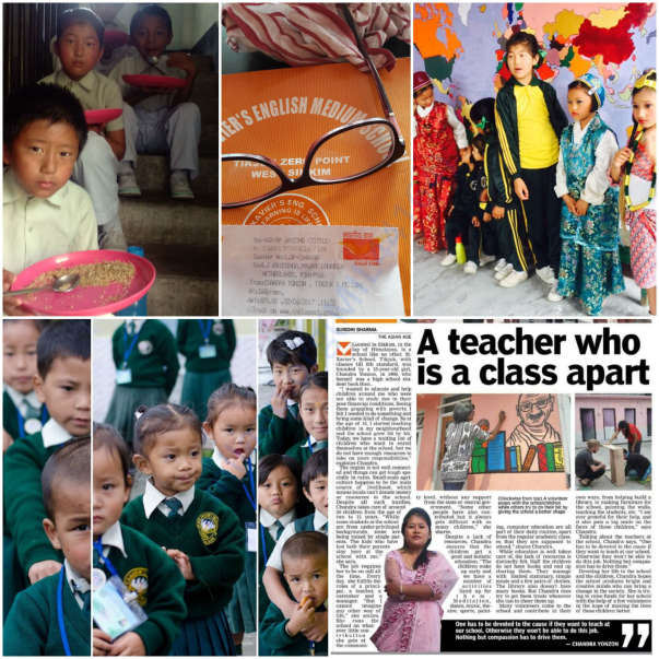 The Asian Age covering the St Xaviers School Story