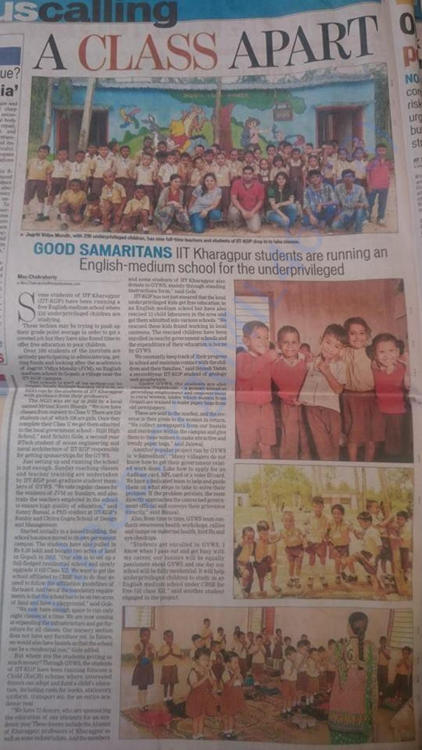 Hindustan Times Coverage