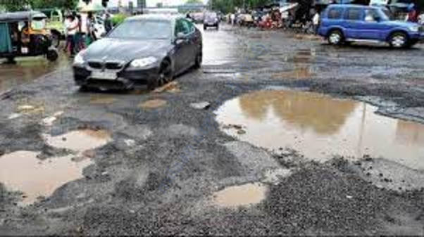 road potholes