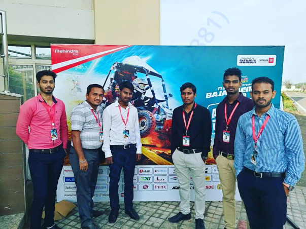 Participation in BAJA VIRTUALS 2018 in Chitkara University, chandigarh
