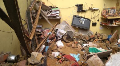 Real Life Pictures of the House in Hari Nagar- that killed the parents