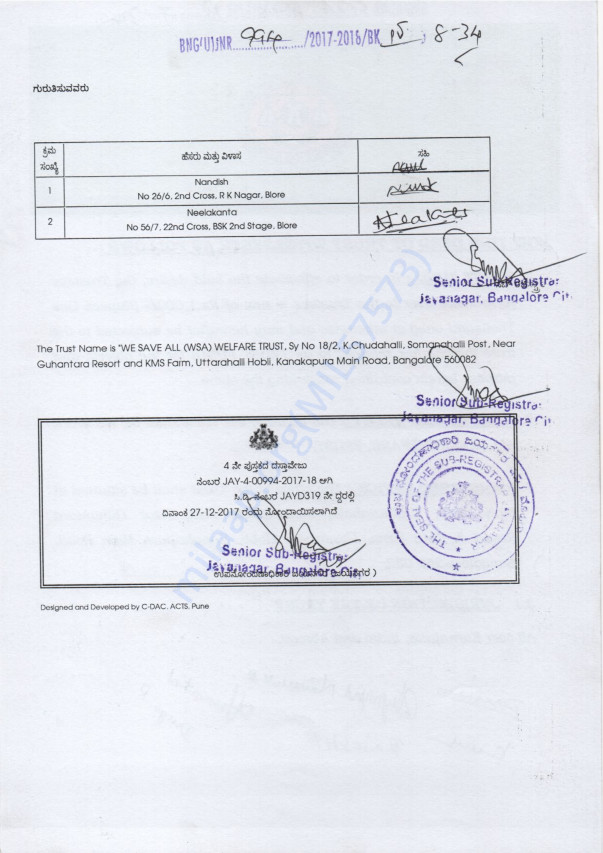 Registration Document