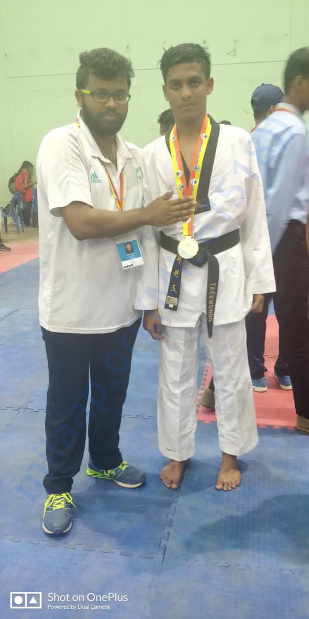 NATIONAL GOLD MEDALIST, BHARATH R