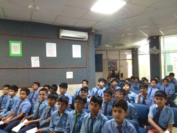 One of our first workshop in Delhi!