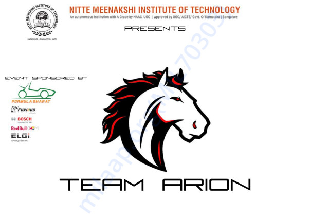 TEAM ARION BROCHURE