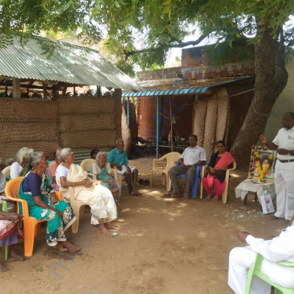 Elderly and Old People before the Mid-Day Meal program
